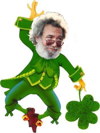 Jerry Garcia the Leprechaun aka Jerry O39Garcia for St P
