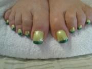 nail art style women long painted