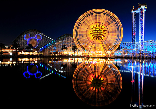 paradise pier in motion