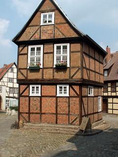 Quedlinburg Schlossmuseum Aufgenommen auf einem