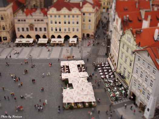 fake Tilt-shift photography No.3