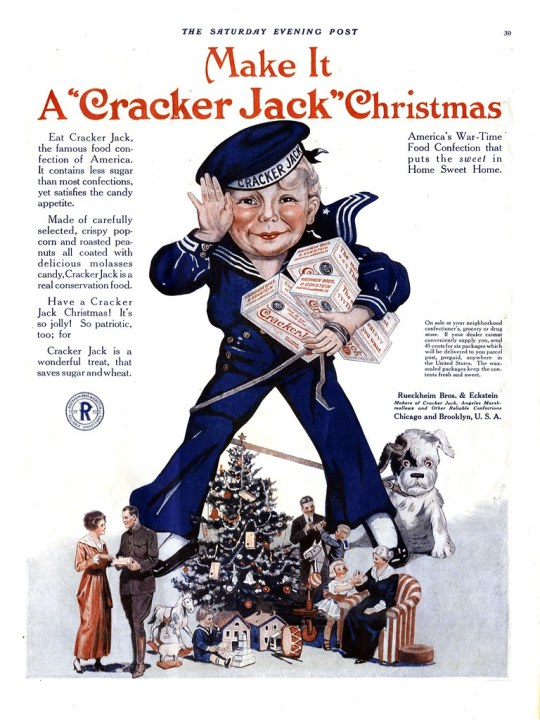 Cracker Jack - published in The Saturday Evening Post - December 1918
