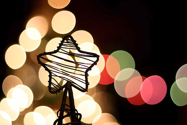 Holiday bokeh