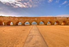 Caesarea Aqueduct by luzer, on Flickr