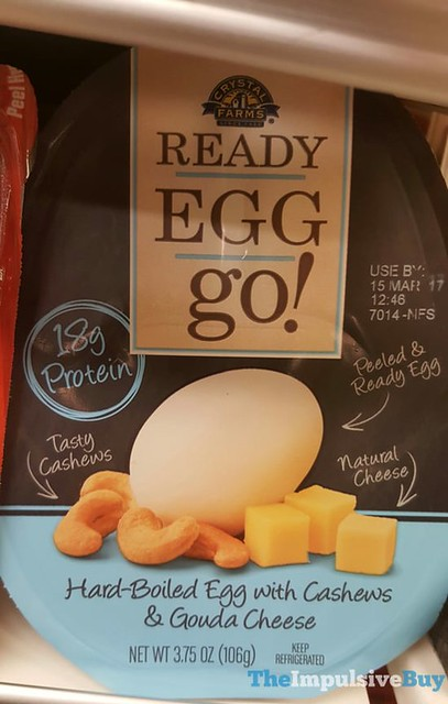 Crystal Farms Ready Egg Go! with Cashews & Gouda Cheese