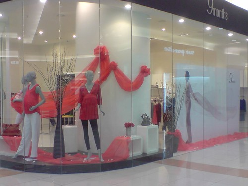 AEON Bukit Tinggi CNY display by peach_on_tea