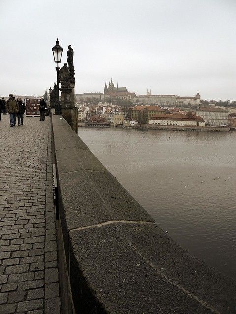 On the Charles Bridge, Prague - Photo : Gilderic