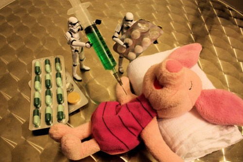 Getting rid of swine flu