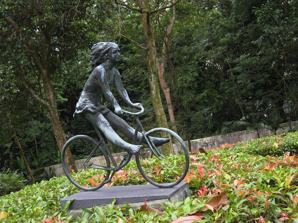 Girl on a Bike, Singapore