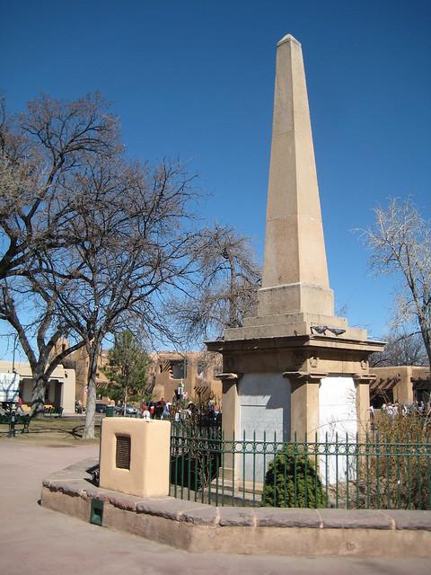 Santa Fe Plaza Obelisk Erected In 1868  Flickr  Photo
