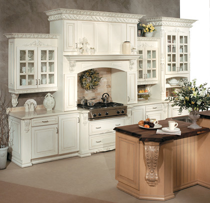 Elegant Kitchen Cabinets  Fieldstone Cabinetry  This