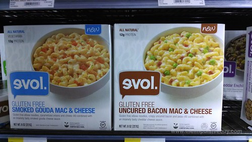 evol Smoked Gouda Mac & Cheese and Uncured Bacon Mac & Cheese