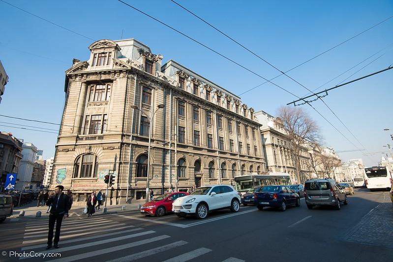 Cladirea universitatii, Bucuresti