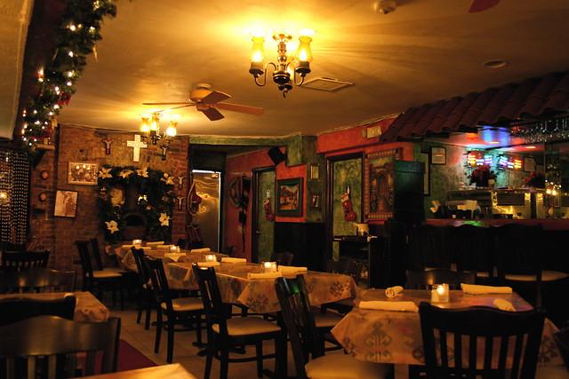 Interior  bar and dining area  Alero Mexican Restaurant