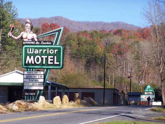 Warrior Motel - Cherokee, North Carolina U.S.A. - November 24, 2007