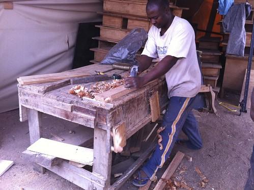 Sunny O - Furniture Market @ Deidei Lumberyard & Sawmills - Deidei FCT Nigeria by Jujufilms