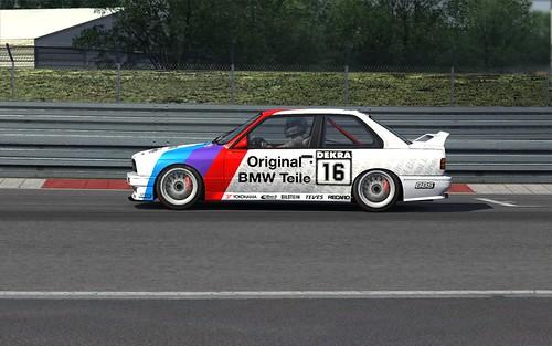BMW M3 DTM 1992 Altfrid Heger