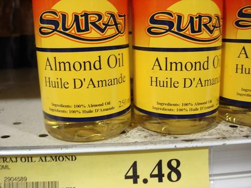 Almond Oil... (aka: Huile D'Amande)