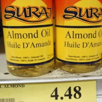 Almond oil: Hippie shit
