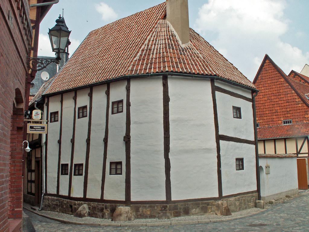 Quedlinburg Fachwerkmuseum Aufgenommen auf einem