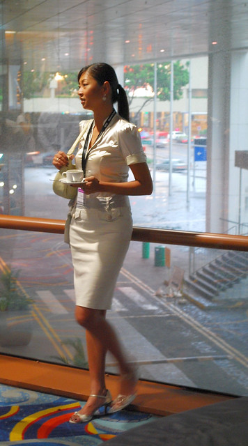 Pretty office girl