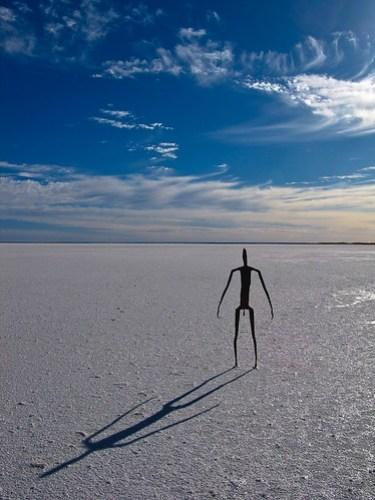 Lake Ballard: Kunst auf dem See