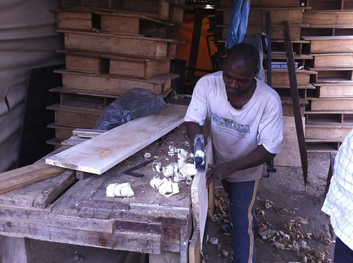 Sunny O - Furniture Maker Abuja Nigeria by Jujufilms