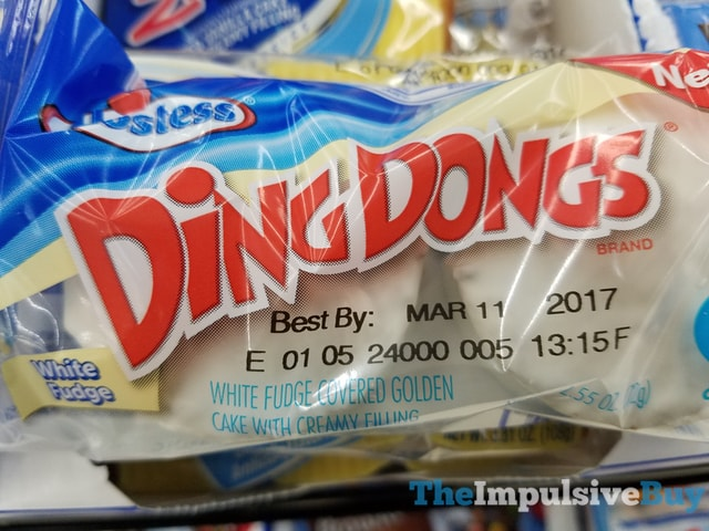 Hostess White Fudge Ding Dongs
