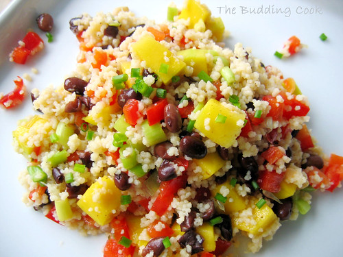 The Budding Cook Summer Couscous Salad