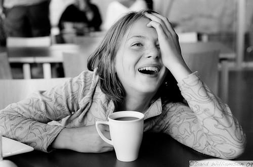 Emily Laughs (Explored) by Davidap2009