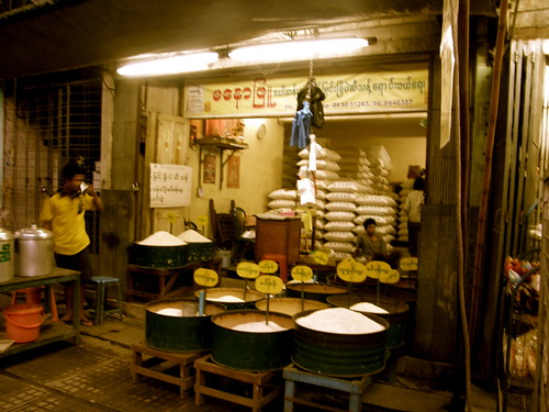Rice Shop, Yangon