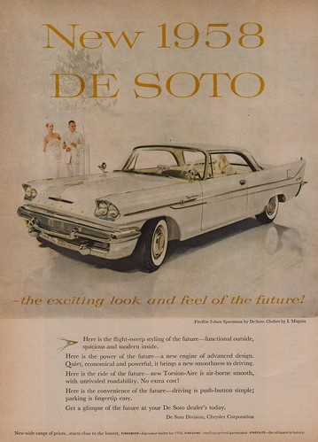 New 1958 De Soto