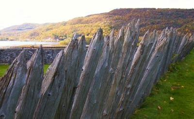 The Abatis of Fort Ticonderoga