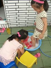 自己的玩偶自己洗(4.10ys)/zoyo做的家事