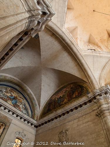 Inside the Catedral de San Cristobal