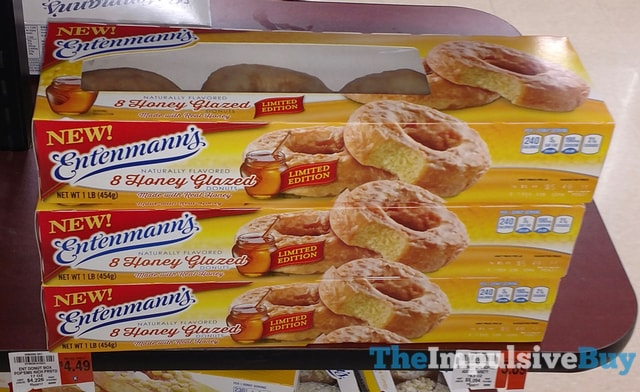 Entenmann's Limited Edition Honey Glazed Donuts