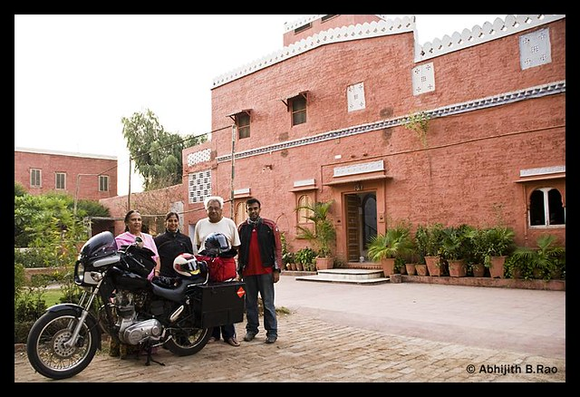 Our hosts - Jaswant Bhavan