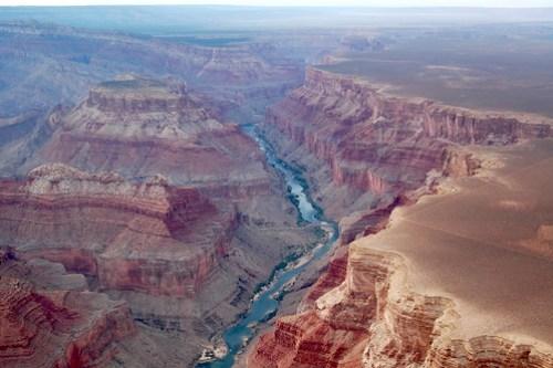 Grand Canyon dall'alto