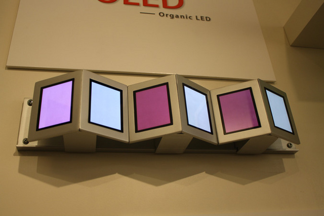 OLED wall sconce by WAC lighting