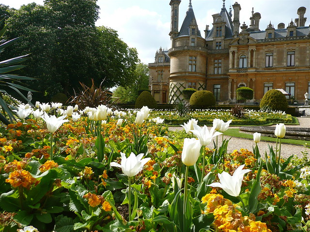 In The Gardens At Waddesdon Manor Flickr Photo Sharing