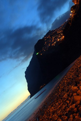 Noche de San Juan history, Portugal beach