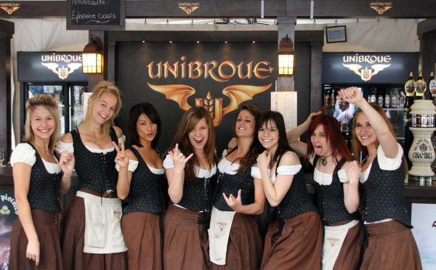 Unibroue girls - au naturale