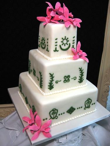 adinkra symbols wedding cake stephaniethebaker.com