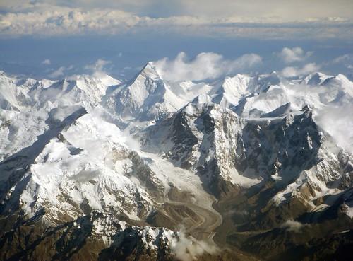天山山脉西段航拍 / West Tian Shan mountains