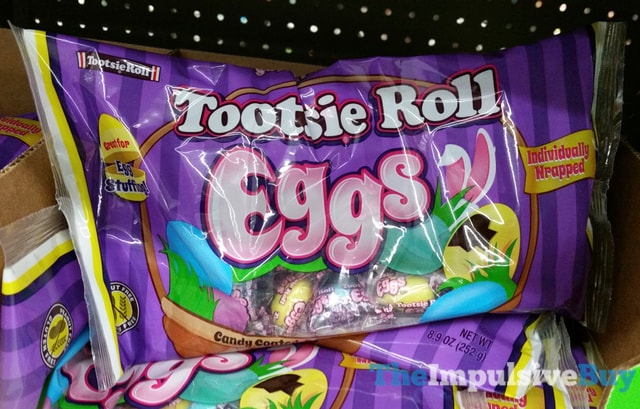 Tootsie Roll Eggs