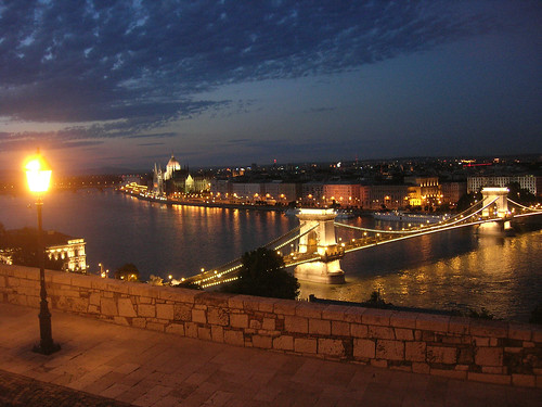 Enchanted evening in Budapest 1