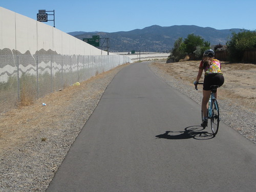Freeway Bike Path