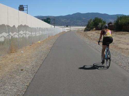 Freeway Bike Path