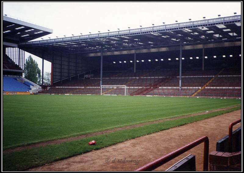 Aston Villas The Holte End  We are the famousthe