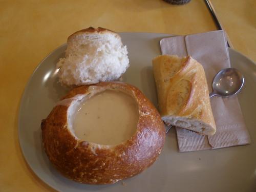 Lunch @ Panera's
